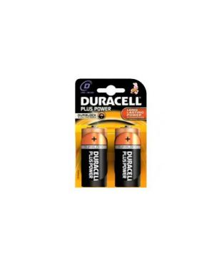 Blister 2 pile duracell plus (mn1300) d - torcia GILMN1300_36207 by Esselte