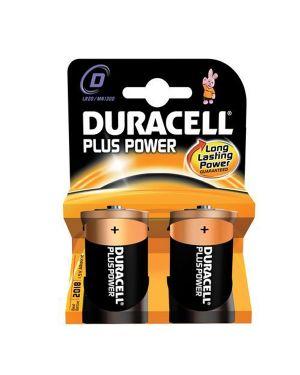 Blister 2 pile duracell plus (mn1300) d - torcia GILMN1300 5000394114715 GILMN1300_36207