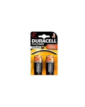 Blister 2 pile duracell plus (mn1400) c - mezza torcia GILMN1400_36208