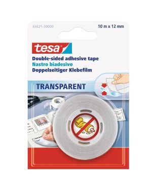 Nastro biadesivo 10mtx12mm trasparente (bls 64-621) tesa 64621-00000-04 4042448902429 64621-00000-04_36227 by Tesa