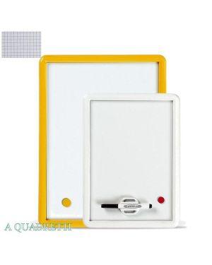 Lavagna magnetica 26x36cm quadrettata cornice col. assort. arda 327Q 8007024503403 327Q_36254 by Lmv