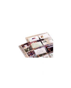 10 buste forate porta 16 biglietti visita 1728 21,7x30,5 favorit 100460081_36274