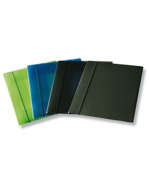 Cartellina con elastico eko u110 trasparente verde leonardi U110-TV 8015687009491 U110-TV_36558 by Esselte