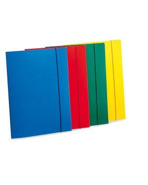 Cartellina con elastico eko u110 rosso leonardi U110-RO 8015687007343 U110-RO_36559 by Esselte
