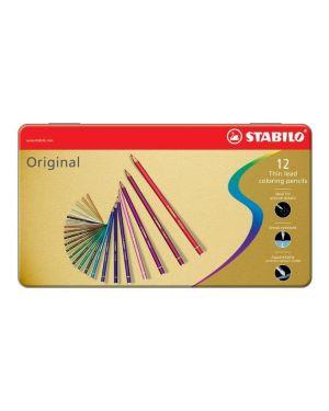 Astuccio metallo 12 pastelli stabilo original 8773 8773-6 4006381311618 8773-6_36755 by Stabilo