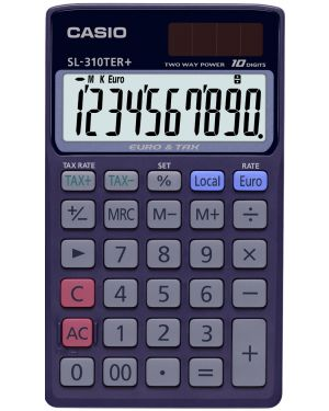 Calcolatrice tascabile casio sl-310ter SL-310TER+ 4971850188759 SL-310TER+_36809
