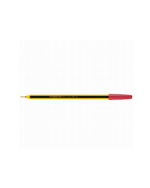 Scatola 20 penna a sfera 434 noris stick rosso 1,0mm staedtler 43402 4007817410998 43402_37067 by Staedtler
