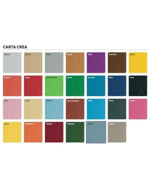 Bl10cartacrea 220 gr 35x50 arancio - Cartacrea 46435108_37243 by Esselte