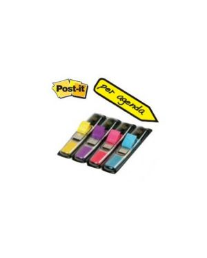 Miniset 140 segnapagina post-it index 683-4ab in 4 colori vivaci 28625._37499 by Post-it