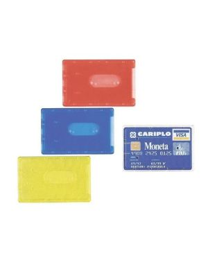 Cf100 portacards rigido pvc trasp - 100500080 100500080_37645 by Esselte