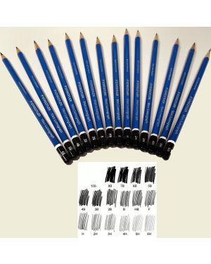 Matita grafite mars® lumograph® 100-6h staedtler 100-6H 4007817104293 100-6H_37653 by Esselte