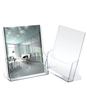 Portadepliant in polistirolo trasparente 23x25,5x3cm art.5021 5021 8007509050217 5021_37866 by Lebez