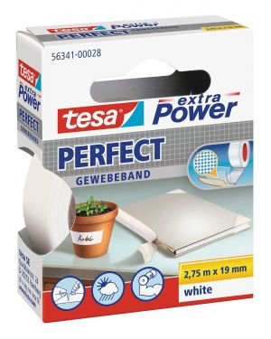 Nastro adesivo telato 19mmx2,7mt bianco 56341 xp perfect 56341-0002803 4042448044013 56341-0002803_37923 by Esselte