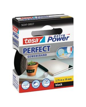 Nastro adesivo telato 19mmx2,7mt nero 56341 xp perfect 56341-0002703 4042448043993 56341-0002703_37925 by Esselte