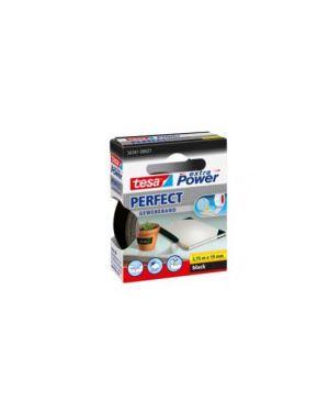 Nastro adesivo telato 19mmx2,7mt nero 56341 xp perfect 56341-0002703_37925 by Tesa