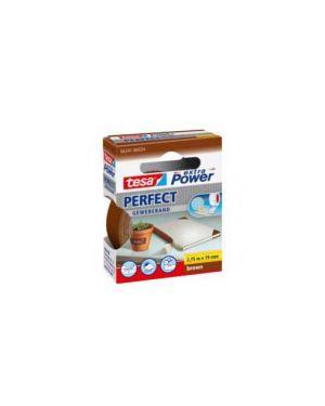 Nastro adesivo telato 19mmx2,7mt marrone 56341 xp perfect 56341-00034-03_37930 by Tesa
