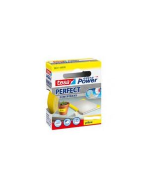 Nastro adesivo telato 38mmx2,7mt giallo 56343 xp perfect 56343-00037-03_37934 by Esselte