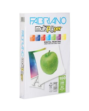 Carta multipaper a3 160gr 250fg 297x420mm fabriano 53529742 8001348167983 53529742_38207 by Fabriano