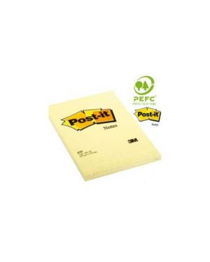 Blocco 100fg post-it®giallo canary 102x152mm 659 Confezione da 6 pezzi 94293_38515 by Esselte