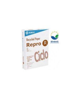 Carta fotocopie burgo ciclo a4 80gr 500fg riciclata 210x297mm Confezione da 5 pezzi 7520001-8121_38519 by Burgo