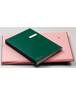 Libro firma 14 pagine verde 24x34cm 614-e fraschini 614E-VER 8027032005034 614E-VER_39011