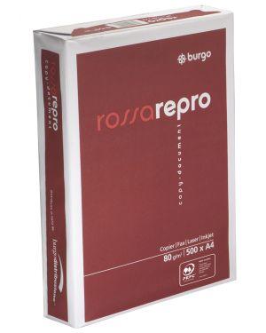 Carta fotocopie burgo rossa repro 80n 210x297mm 80gr CONFEZIONE DA 5 1104480-8133_39079 by Esselte