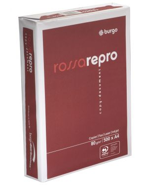 Carta fotocopie burgo rossa repro 80n 210x297mm 80gr CONFEZIONE DA 5 1104480-8133_39079