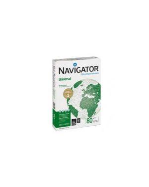 Carta navigator universal a4 80gr 500fg Confezione da 5 pezzi 252X80B021297_39257 by Navigator
