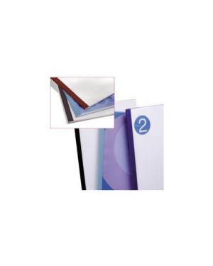 100 cartelline termiche 1,5mm blu business line leather IB451003_39462 by Gbc