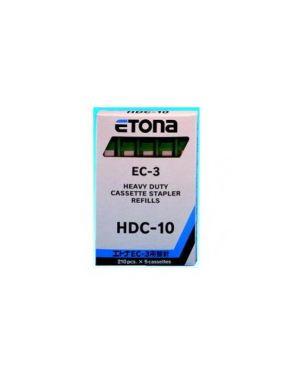 5 caricatori da 210 punti hdc-10 per etona ec-3 034D104002_40401 by Esselte