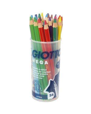 Barattolo 24 pastelli giotto mega 519700 8000825519703 519700_40457 by Giotto
