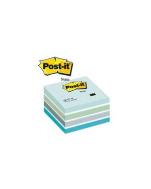 Blocco cubo 450foglietti post-it® 76x76mm 2028-b pastello blu 82392_44716 by Esselte