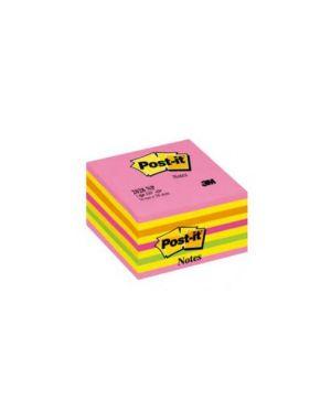 Blocco cubo 450foglietti post-it® 76x76mm 2028-np neon rosa 82466_44717 by Esselte