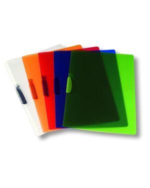 Cartellina clipper trasparente blu Fellowes F007TB 8015687017083 F007TB_44727