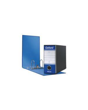 Registratore oxford g81 blu dorso 8cm f.To memorandum Confezione da 12 pezzi 390781050_44945 by Esselte