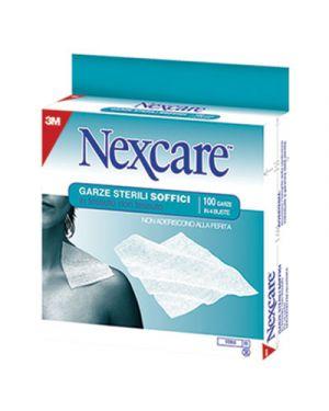 100 garze sterili soffici nx1 (4bsx25garze) nexcare 23051 8000280030492 23051_45043 by Esselte