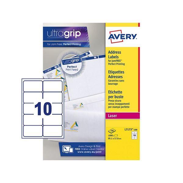 Scatola da 1000 fogli di etichette adesive A4 formato 105x48mm