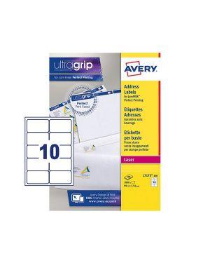 Etichetta adesiva l7173 bianca 100fg a4 99,1x57mm (10et - fg) avery L7173-100 5014702005169 L7173-100_45187 by Avery