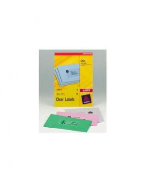 Etichette laser trasparenti l7567-25fg (1et/fg 210x297) quickpeel avery L7567-25_45202 by Avery