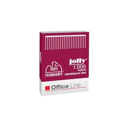 Punti jolly oro passo 6 - 4 pz.1000 ROMEO MAESTRI 1001121 8005231011223