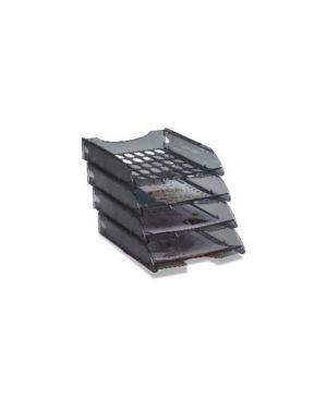 Vaschetta portacorrispondenza e040 fume' trasparente modula leonardi E040TGF_45369