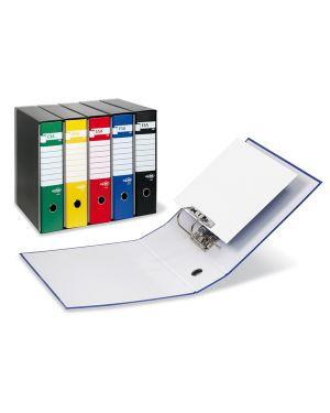 Registratore esa p80 blu dorso 8cm f.to protocollo 39019847 8004972015460 39019847_45599 by Sei Rota