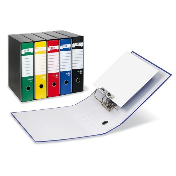 Registratore esa p80 blu dorso 8cm f.to protocollo 39019847 8004972015460 39019847_45599 by Esselte