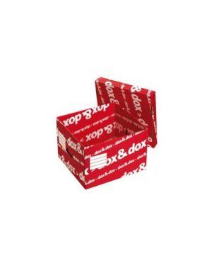 Scatola con coperchio doxdox 39,5x28x35,5 Confezione da 12 pezzi 1600175_45639