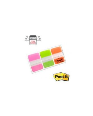 Dispenser 66 post-it index strong 686-pgoeu 25x38mm colori vivaci 74474_45656 by Post-it