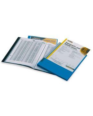 Portalistini personalizzabile display 20buste nero 40325-NE 8015687015881 40325-NE_45759 by Fellowes