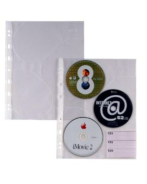 10 buste forate per 3 cd atla cd 3 21x29,7 sei rota 662509 8004972015293 662509_45787