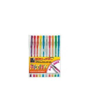 Astuccio 10 roller koh-i-gel colori fruit NAGP10F_45943 by Esselte