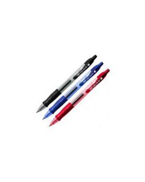 Scatola 12 penna sfera scatto gelocity 0,7mm rosso bic 829159_45996