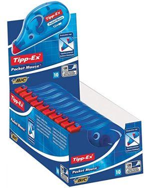 Box 10 correttori a nastro 4,2mmx10mt pocket mouse tipp-ex bic 8207891 70330510364 8207891_46135